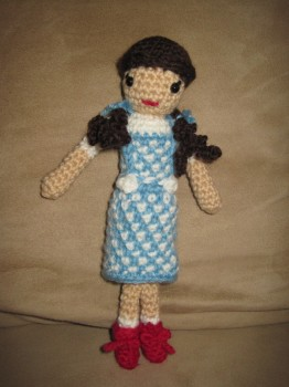 My finished Dorothy doll.